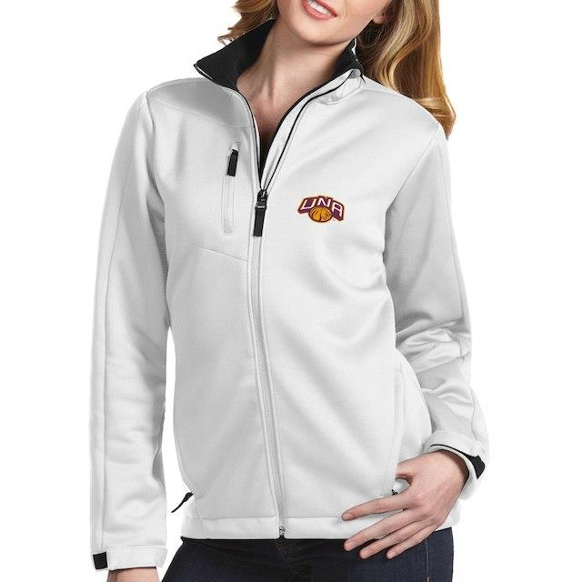 アンティグア Antigua North Alabama Lions Women's White Traverse Full-Zip Jacket ユニセックス