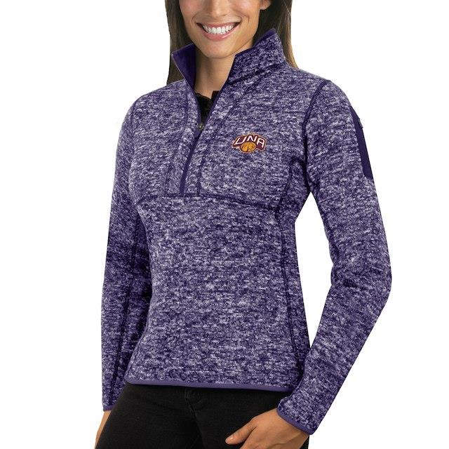 アンティグア Antigua North Alabama Lions Women's Purple Fortune 1/2-Zip Pullover Sweater ユニセックス