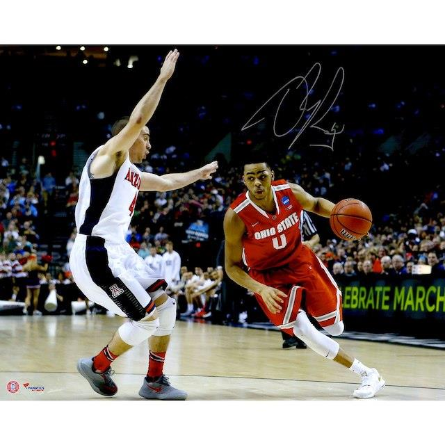 Fanatics Authentic D'Angelo Russell Ohio State Buckeyes Autographed 16'' x 20'' Driving Photograph ユニセックス