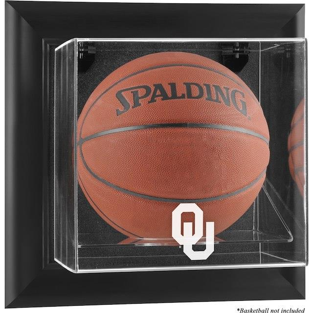 Fanatics Authentic Oklahoma Sooners Black Framed Wall-Mountable Basketball Display Case ユニセックス