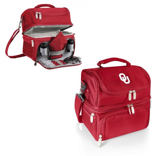 Oklahoma Sooners Crimson Pranzo Lunch Tote ユニセックス