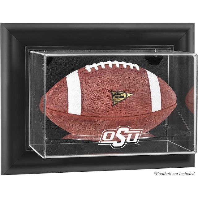Fanatics Authentic Oklahoma State Cowboys Black Framed Wall-Mountable Football Display Case ユニセックス
