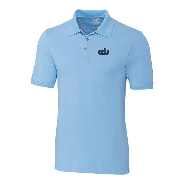 Cutter & Buck Old Dominion Monarchs Light Blue DryTec Advantage Vault Logo Polo メンズ