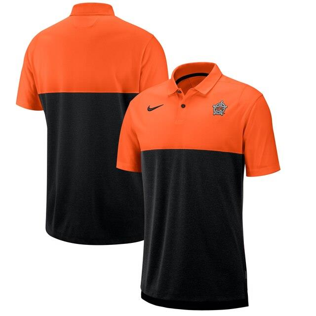 ナイキ Oklahoma State Cowboys Nike 2019 Early Season Coaches Polo Orange/Black メンズ