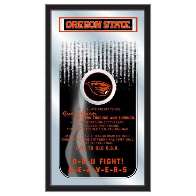 Oregon State Beavers 26 x 15 Fight Song Mirror ユニセックス