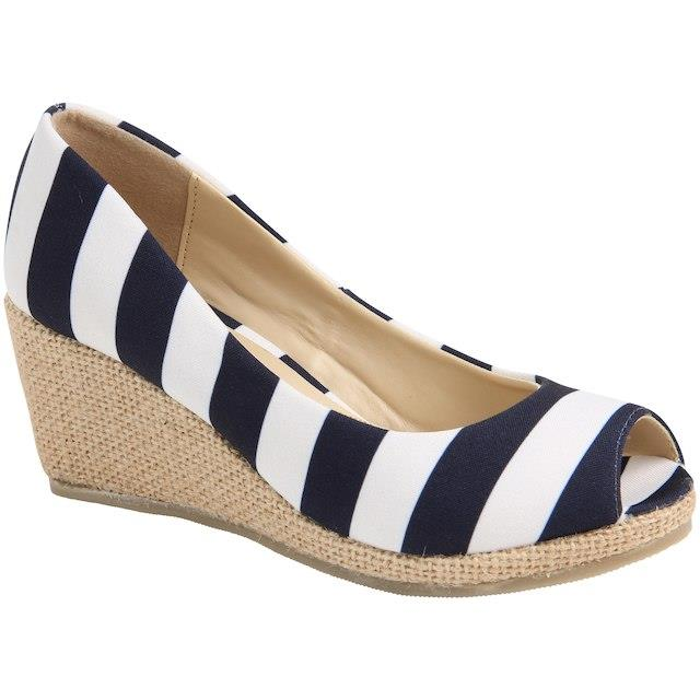 Lillybee U Penn State Nittany Lions Women's Striped Wedge ユニセックス