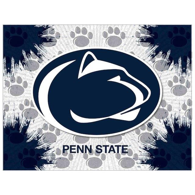 Penn State Nittany Lions 24 x 32 Printed Canvas Art ユニセックス