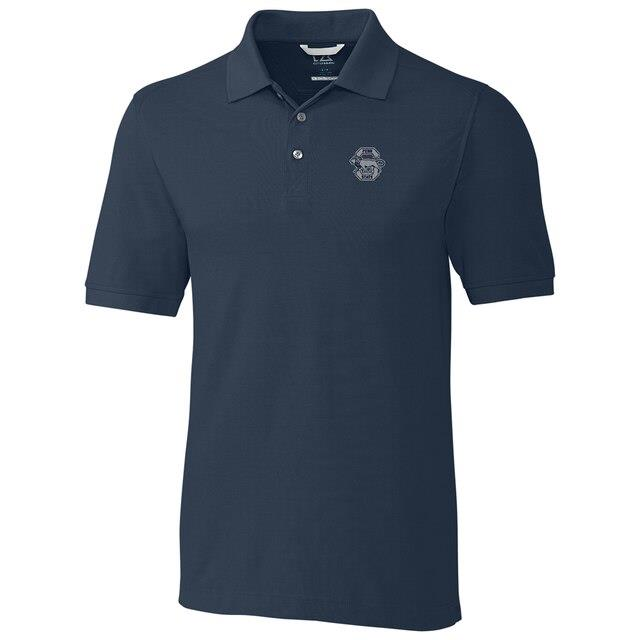Cutter & Buck Penn State Nittany Lions Navy Big & Tall College Vault Advantage DryTec Tri-Blend Polo メンズ