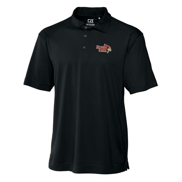 Cutter & Buck Southern Illinois Salukis Black Big & Tall DryTec Genre Polo メンズ