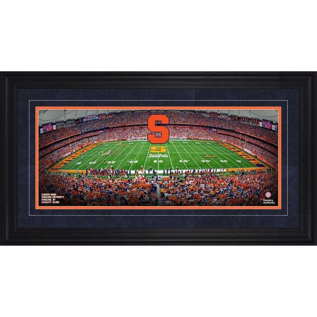 Fanatics Authentic Syracuse Orange Framed 17 x 31 Carrier Dome Gameday Panoramic ユニセックス