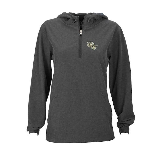 UCF Knights Women's Charcoal Pullover Stretch Anorak Jacket ユニセックス