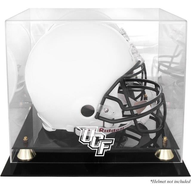 Fanatics Authentic UCF Knights Golden Classic Logo Helmet Display Case with Mirrored Back ユニセックス