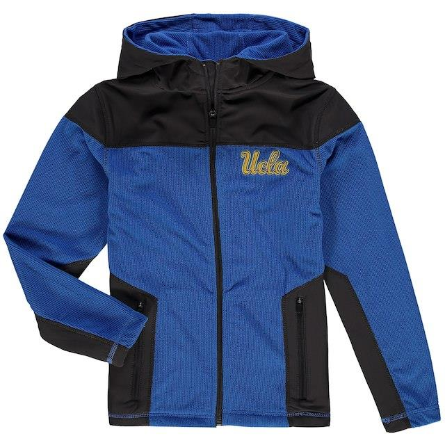 Colosseum UCLA Bruins Youth Blue Corded Full-Zip Hooded Jacket キッズ