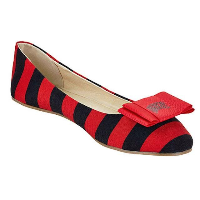 LillyBee U UNLV Rebels Womens Removable Bow Flats ユニセックス