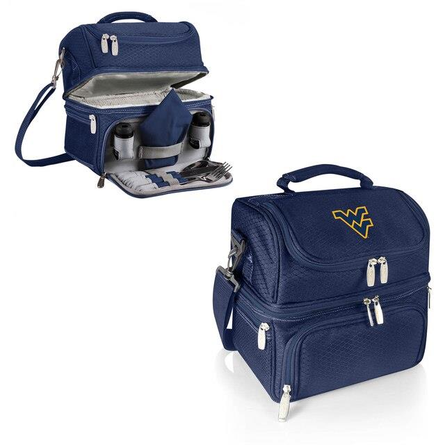 West Virginia Mountaineers Navy Pranzo Lunch Tote ユニセックス