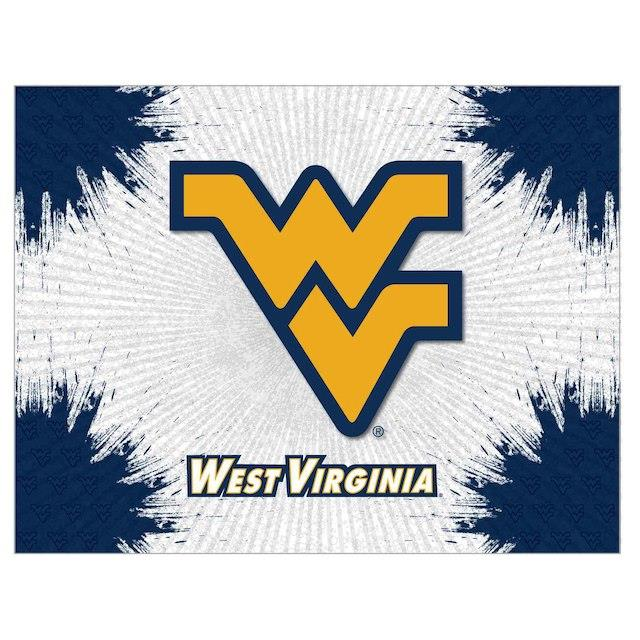 West Virginia Mountaineers 15 x 20 Printed Canvas Art ユニセックス
