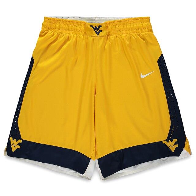 Fanatics Authentic West Virginia Mountaineers Team-Issued Gold Shorts from the 2015-16 Basketball Season - Size 38 ユニセックス