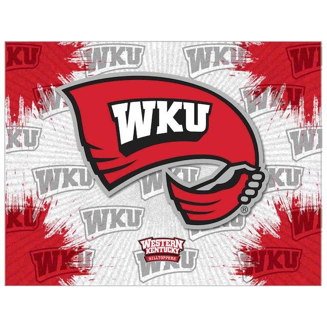 Western Kentucky Hilltoppers 15 x 20 Printed Canvas Art ユニセックス
