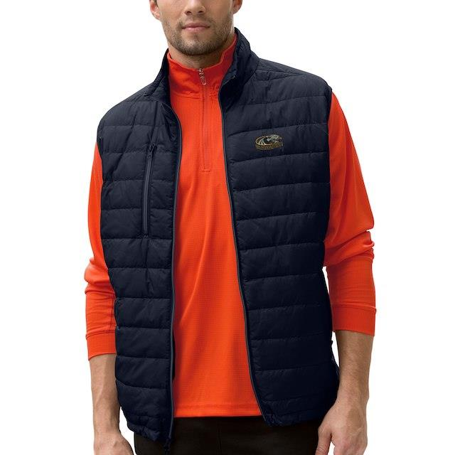 Wisconsin-Milwaukee Panthers Black Apex Compressible Quilted Vest メンズ