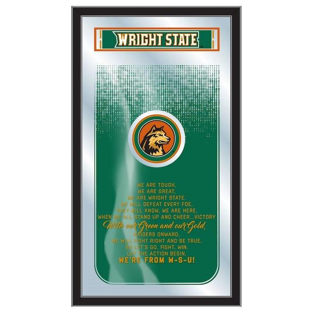Wright State Raiders 26 x 15 Fight Song Mirror ユニセックス