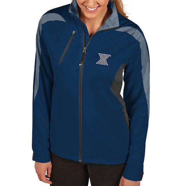 アンティグア Antigua Xavier Musketeers Women's Navy Discover Full-Zip Jacket ユニセックス