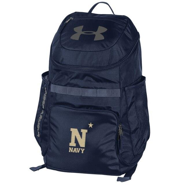 アンダーアーマー Under Armour Navy Midshipmen Storm Undeniable III Backpack ユニセックス