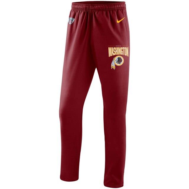ナイキ Nike Washington Redskins Burgundy Sideline Practice Performance Pants メンズ
