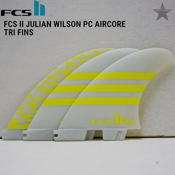 【正規取扱】【FCS2】Julian Wilson【Tri Fin】エフシーエス2 ジュリアンウィルソン Mサイズ【PC AIR CORE】