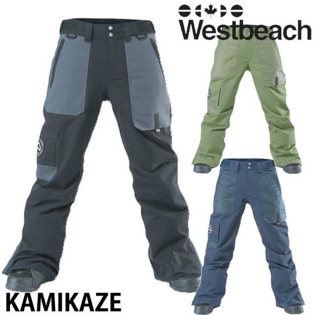 【WESTBEACH】KAMIKAZE PANTS【2018-2019モデル】カラーUltramarime サイズM