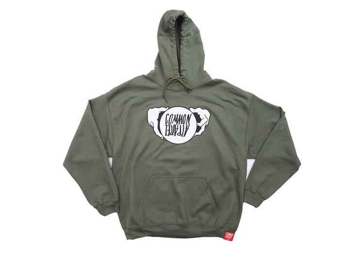 正規取扱 CommonApparel Crystalball×Common 返品不可 割引も実施中 Heavyweigt sweatshirt Common カラー:Green カラーGreen Apparel