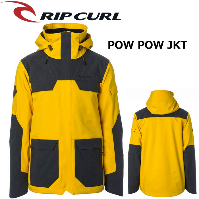 【RIP CURL】POW POW JACKET【2018-2019モデル】カラーMST【リップカール】