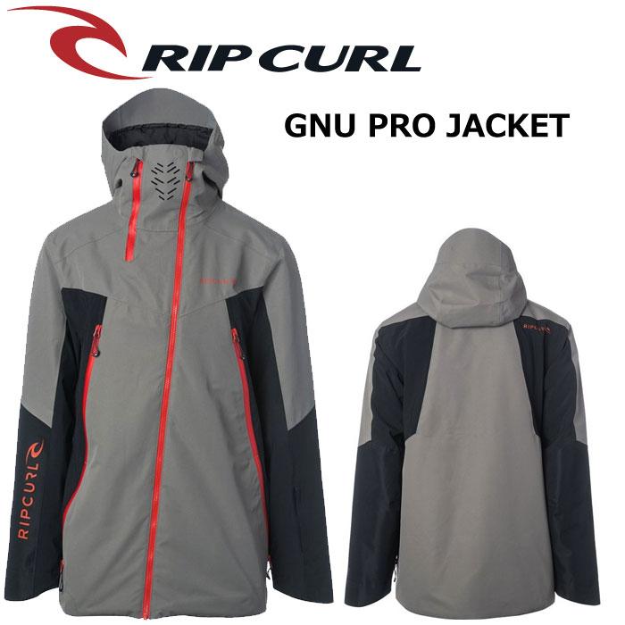 【RIP CURL】PRO GNU JACKET【2018-2019モデル】カラーBLK【リップカール】