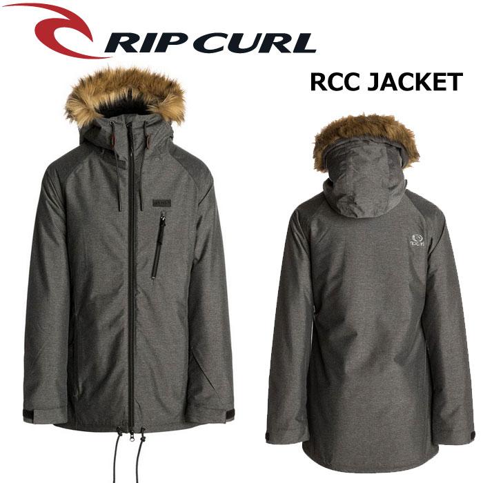 【RIP CURL】W RCC JACKET【2018-2019モデル】カラーBLK【リップカール】【レディース】
