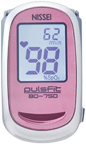 パルスフィット 日時指定 値引き BO-750指先クリップ型パルスオキシメータ日本精密測器色はおまかせ送料無料安心の日本製