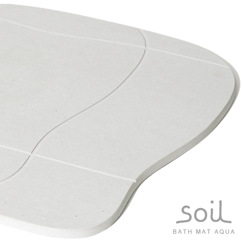 Soil バスマットアクア aqua ソイル バスグッズ 足拭きマット