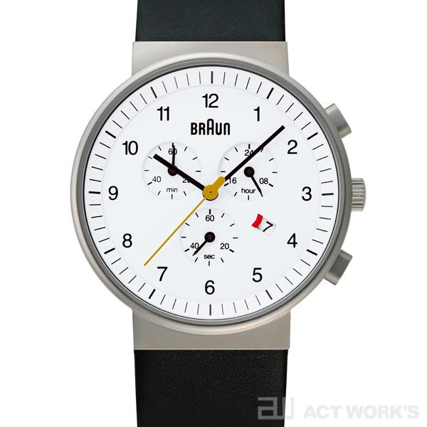 BRAUN BNH0035 腕時計(白) ブラウン【時計 リストウォッチ とけい ベルト メンズ レディース 防水 アナログ 表示】