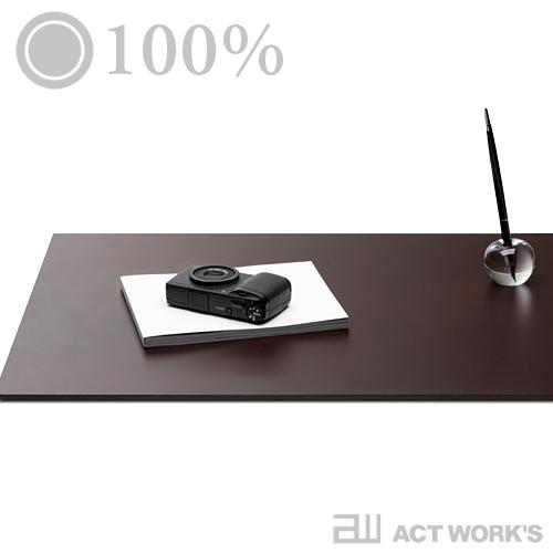 《全2色》100% Leather Desk Mat レザーデスクマット 【日本製 デザイン雑貨 ステーショナリー 机 オフィス 牛革 メイドインジャパン 文房具】