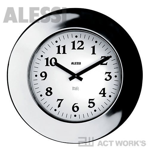 ALESSI Momento 掛け時計 モメント 【アレッシィ デザイン雑貨 デスク リビング アレッシイ ウォールクロック オフィス 店舗】