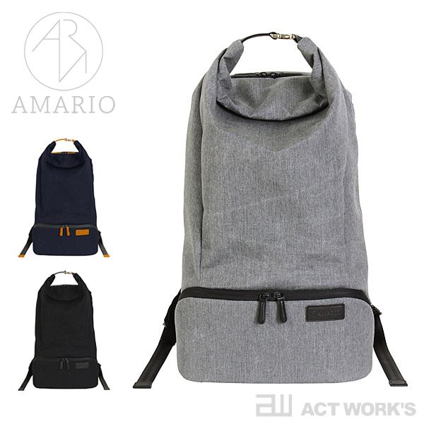 《全3色》AMARIO back pack crum BP 【カメラバッグ デジカメ ケース リュックサック シンプル デザイン バッグ カバン 鞄 BAG ノートパソコン 収納 ノートPC】