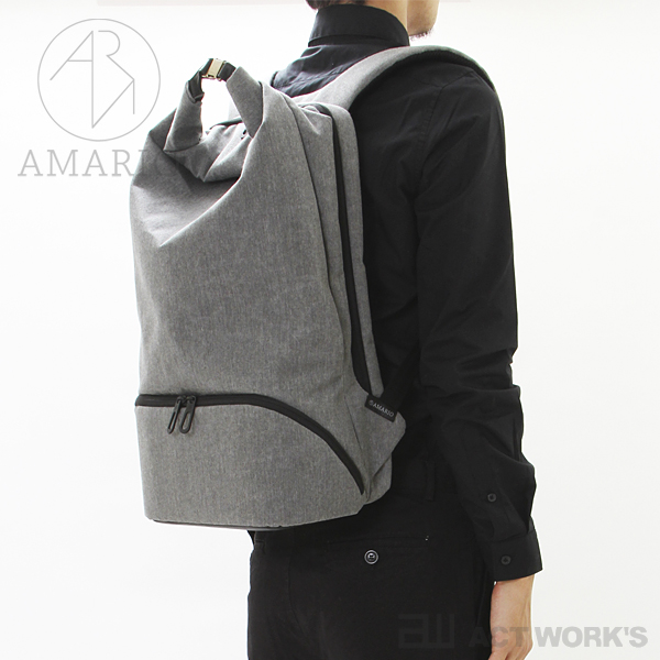 《全4色》AMARIO back pack crum BP15 【カメラバッグ デジカメ ケース リュックサック シンプル デザイン バッグ カバン 鞄 BAG ノートパソコン 収納 ノートPC 15インチ 15inch アマリオ】