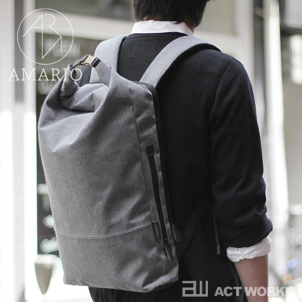 《全5色》AMARIO PC bag crum DP 【デイパック ケース リュックサック シンプル デザイン バッグ カバン 鞄 ノートパソコン 収納 タブレット】