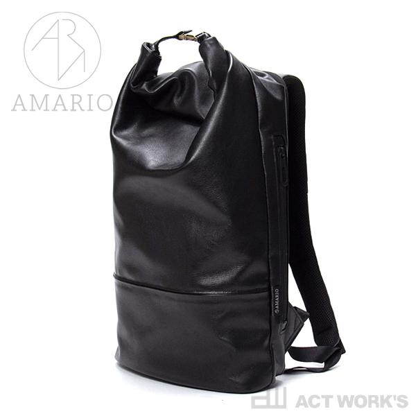 AMARIO crum DP -leather edition-【デイパック ケース リュックサック シンプル デザイン バッグ カバン 鞄 ノートパソコン 収納 タブレット レザーエディション 皮革 姫路レザー】