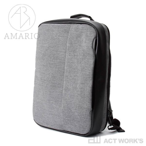 《全3色》AMARIO haco15 3wayバッグ 【シンプル デザイン カバン 鞄 BAG ノートパソコン 収納 ノートPC お出掛け 出張 旅行 アマリオ リュックサック ショルダーバッグ ブリーフケース ビジネスバッグ】