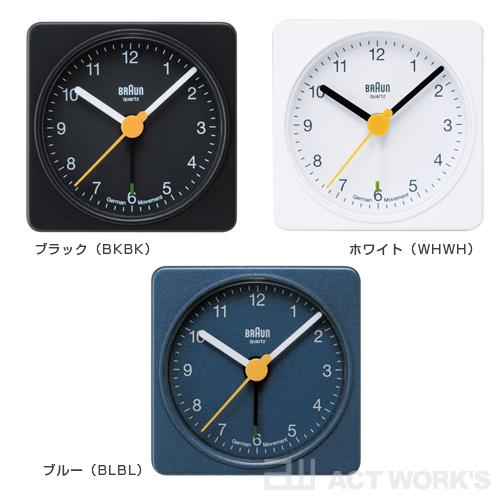 BRAUN BNC002 alarm clock clock Brown