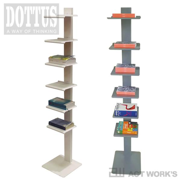 《全2色》DOTTUS Tower6 タワー6 ブックシェルフ 【デザイン雑貨 収納 リビング 本棚 マガジンラック インテリア】※メーカー取り寄せ:ご注文後に納期をご連絡します。
