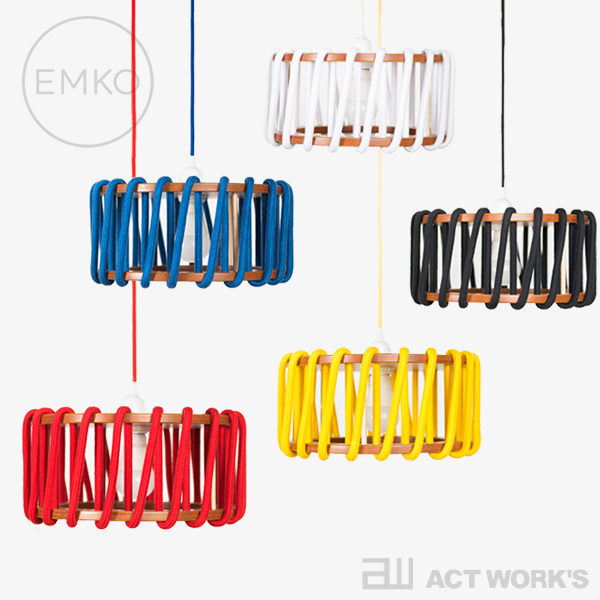 《全5色》EMKO Macaron Lamp マカロンランプ 30cm 【エムコ デザイン雑貨 インテリア 照明器具 蛍光灯 リトアニア】