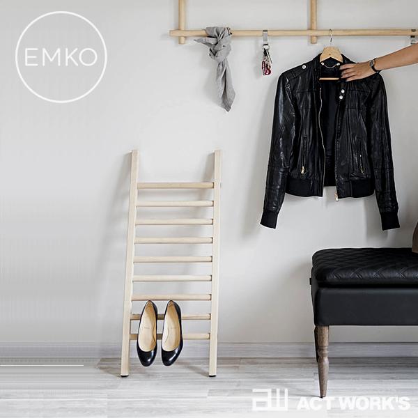 EMKO Step Up Mini シューズディスプレイ シューズラック 玄関収納 【エムコ デザイン雑貨 シューズスタンド ヒール 革靴 スニーカー ハシゴ 梯子 ステップアップミニ】