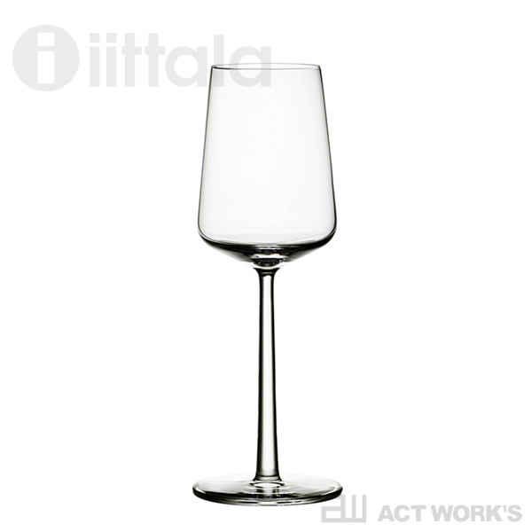 iittala Essence ホワイトワイングラス ペアセット 330ml エッセンス