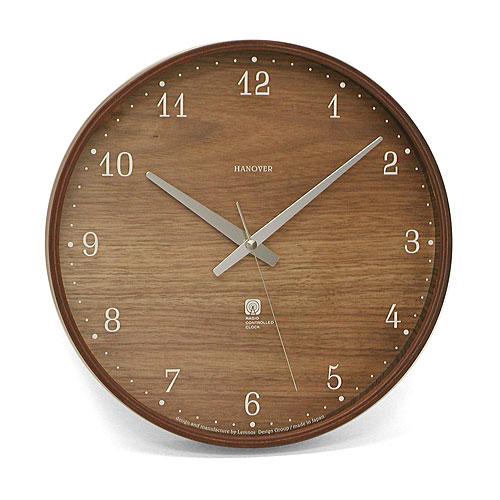 LEMNOS Brownie ブラウニー Lサイズ RIKI CLOCK 【タカタレムノス シンプル デザイン雑貨 壁掛け時計 ウォールクロック スタイリッシュ モダン インテアリア 北欧