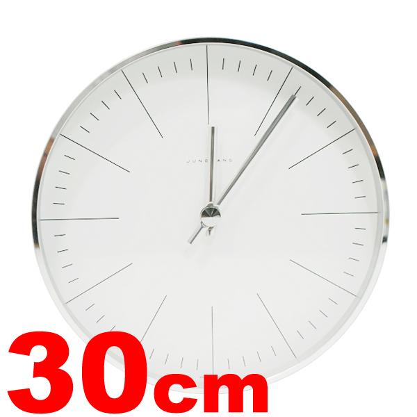 Max Bill 壁掛け時計 Line30cm 時計 クロック ウォールクロック
